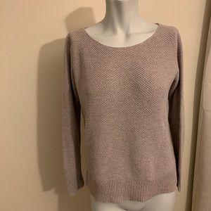 GAP grey/beige sweater 3/4 sleeve